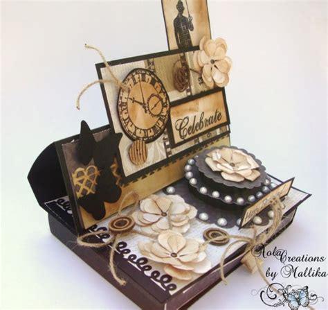Handmade Easel - handmade card easel style crafts mallika kejriwal