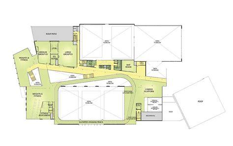 mile one centre floor plan leonard j kaplan center for wellness uncg recreation
