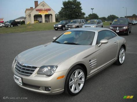 2007 oyster gold metallic chrysler crossfire limited coupe 17200451 photo 2 gtcarlot