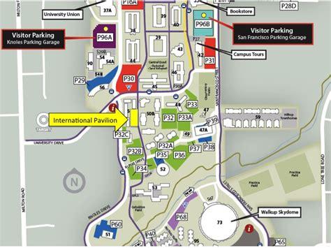 nau map at northern arizona yl club
