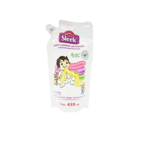 Sleek Bottle 450 Ml jual sleek baby laundry detergent 450 ml
