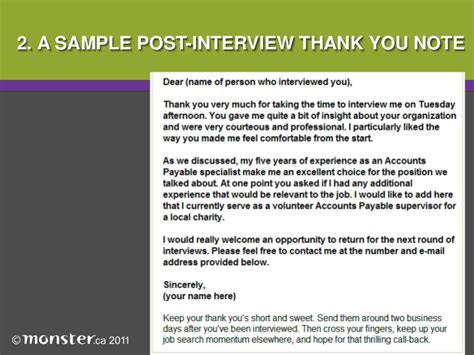 thank you letter exles post thank you note post
