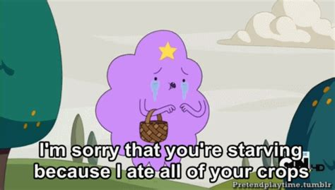 Lumpy Space Princess Meme - crying gifs find share on giphy