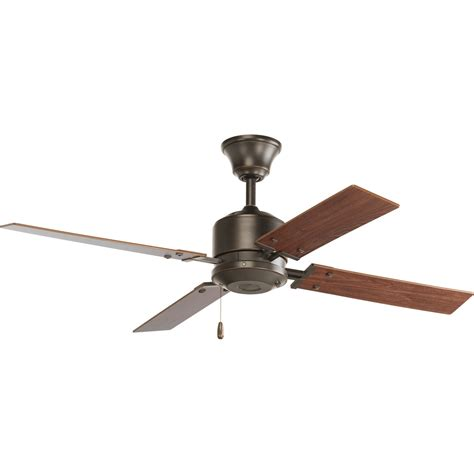bass pro ceiling fans p253120 progress brand 52 quot four blade fan with reversible