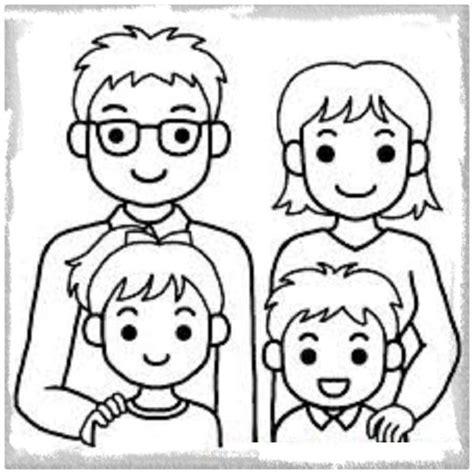 imagenes para dibujar la familia dibujos de la familia para ni 241 os de preescolar archivos