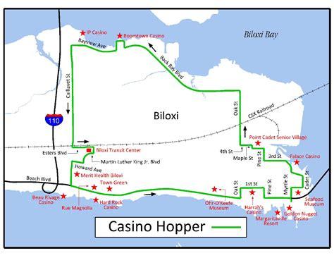 biloxi map casino hopper