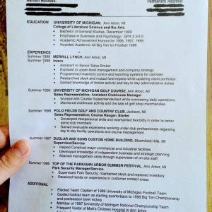 Tom Brady Resume by Tom Brady Shares Resume On Backup Plan If He