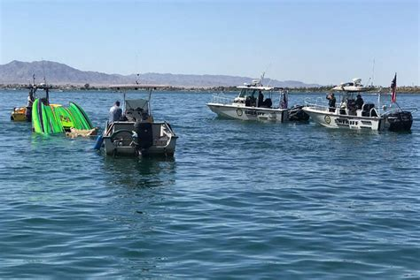 boat crash colorado river 2018 2 dead 1 critical after boat crash on lake havasu in