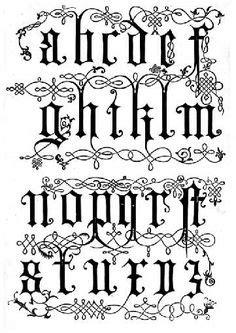 imagenes de letrs goticas abecedario caligrafia pinterest tattoos and body art