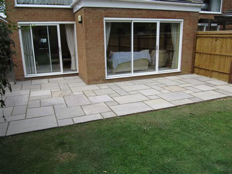awbs landscaping oxford 30m2 back garden patio paving