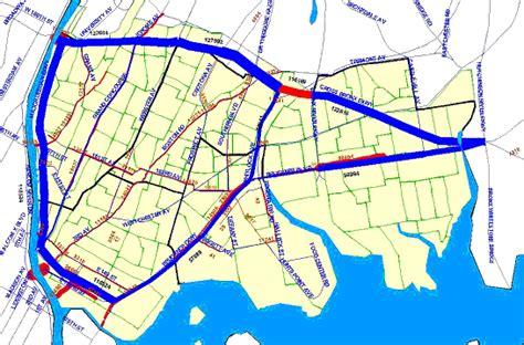 nyc traffic map south bronx