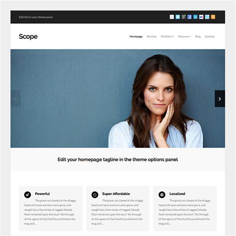 wordpress templates for it business scope business wordpress theme wpexplorer