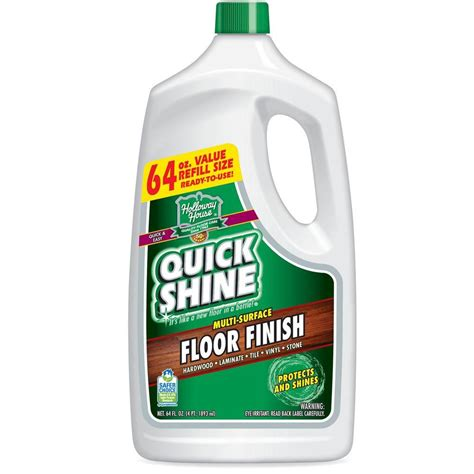 shine 64 oz floor finish 51590 the home depot
