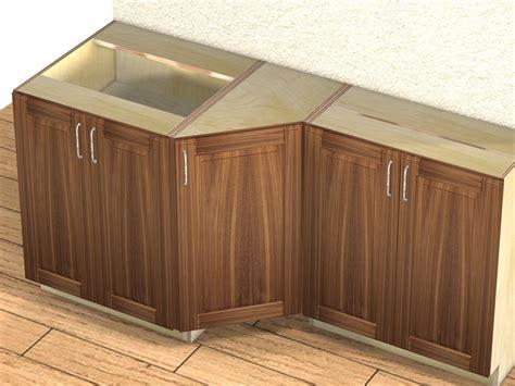 45 Degree Kitchen Cabinet 1 Door 45 Degree Transition Cabinet