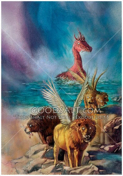 god s revelations of animals and books daniel s vision of beasts