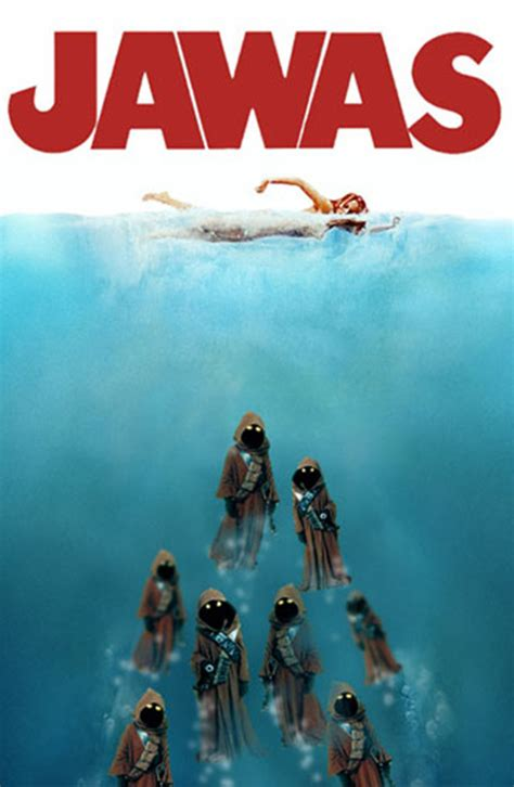 Jaws Meme - hilarious spoofs of the jaws movie poster damn cool