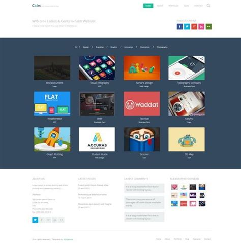html templates for website responsive free 25 free responsive html5 css3 website templates
