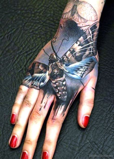 butterfly hand tattoos tattoos designs pictures page 14