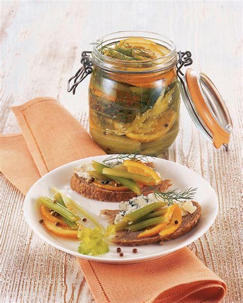 ricette sedano verde sedano verde sott aceto con arance e finocchietto