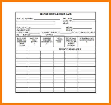 rental payment ledger template ledger review