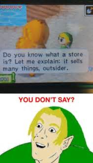 You dont say meme do you know what a store is