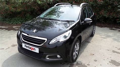 2016 16 Peugeot 2008 1 6 Bluehdi 120 Allure 5dr In Black