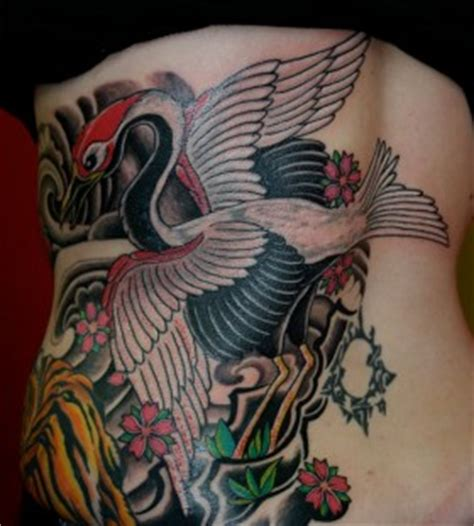 Crane Tattoos Tattoomagz Handpicked Worlds Greatest