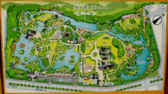 map of parks ritsurin park map 1 20 16 ritsurin cho takamatsu mappery