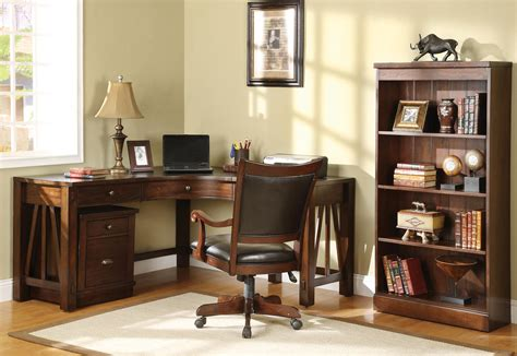 Oak Home Office Desk Oak Office Cabinets Richfielduniversity Us