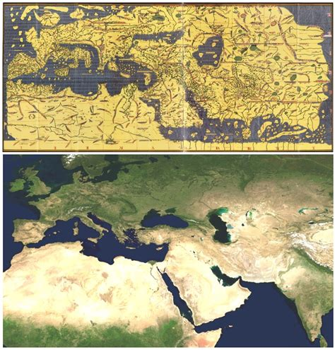 map world powers in 12 century how were maps centuries before aerial
