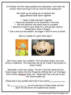 pumpkin book report template wanted poster book report projects templates printable