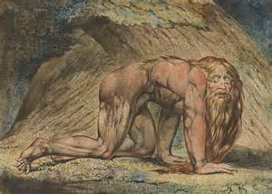 The Garden Of Eden With The Fall Of Man - william blake nebuchadnezzar art and the bible