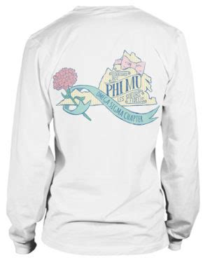 order recruitment t shirts for your sorority chapter