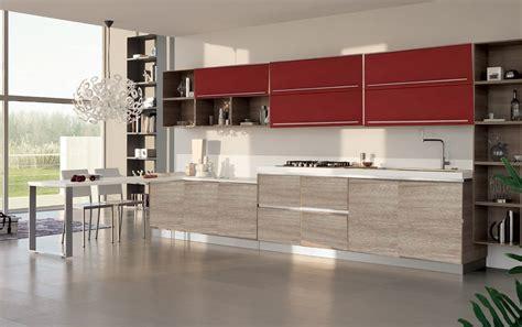 cucina e rossa cucina essenza prezzo outlet rossa e beige in offerta con