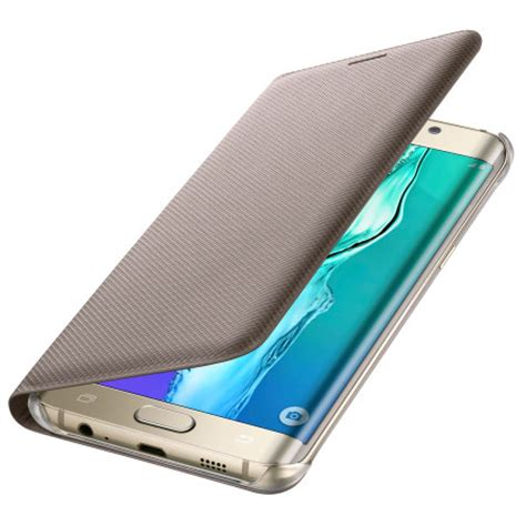 Flip Cover Flip Samsung Galaxy S6 Edge official samsung galaxy s6 edge plus flip wallet cover gold