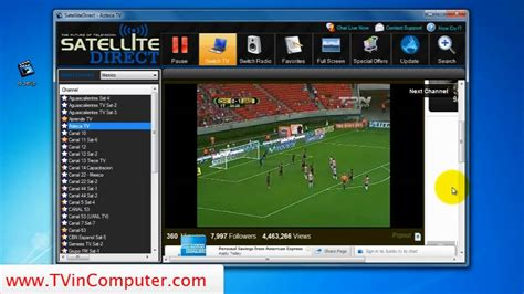 Software Tv Satelit live soccer satellite direct tv to pc software review
