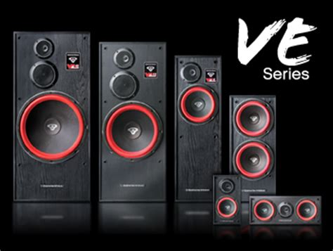 cerwin ve series home theater speaker system