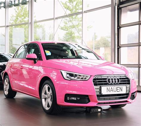 Audi A1 Pink by So Or So Not What Do You Think The Audi A1 In