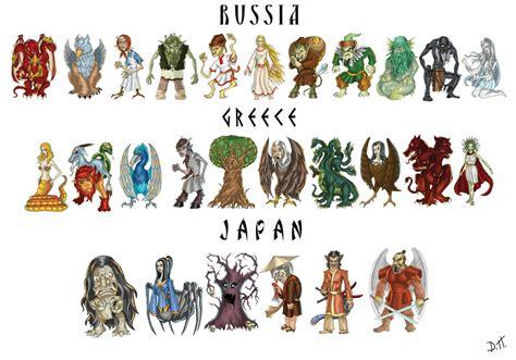list of greek mythological figures mythical creatures picture mythical creatures image