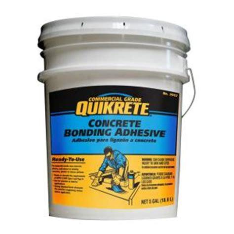 quikrete 5 gal concrete bonding adhesive 990205 the