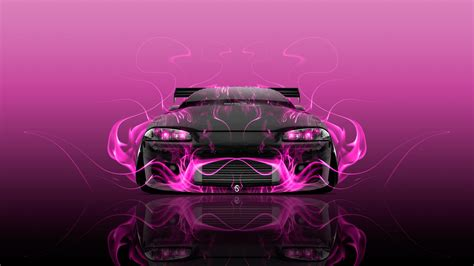 pink mitsubishi eclipse mitsubishi eclipse jdm tuning front fire car 2015