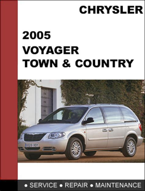 Chrysler Voyager Town Amp Country 2005 Factory Workshop