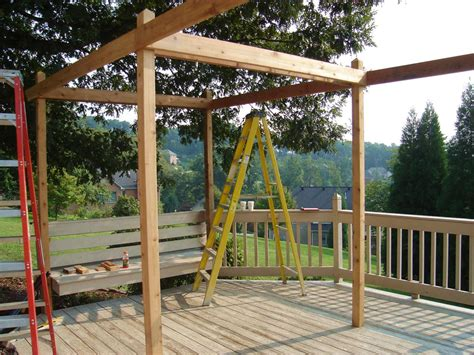 how to make pergola how to build a backyard pergola hgtv