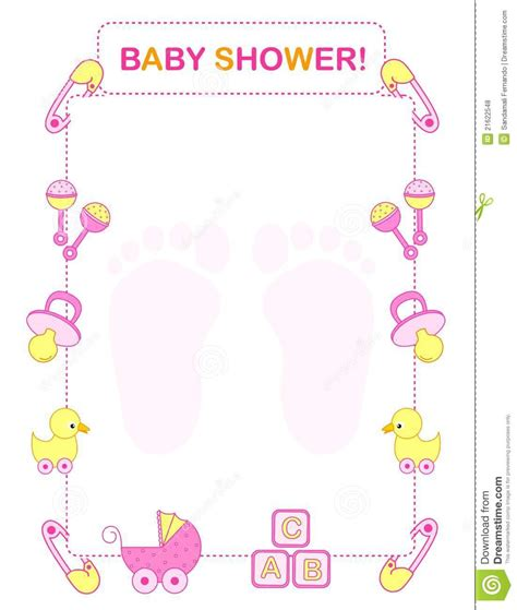 Baby Shower by Baby Shower Clipart Border Clipartsgram