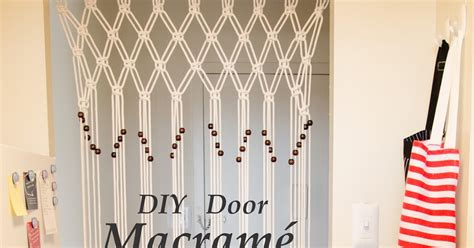 diy door curtains diy door macrame curtain sarah hamid
