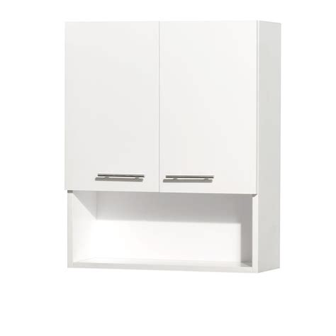 white bathroom wall cabinets zenith collette 21 1 2 in w x 24 in h x 7 in d bathroom