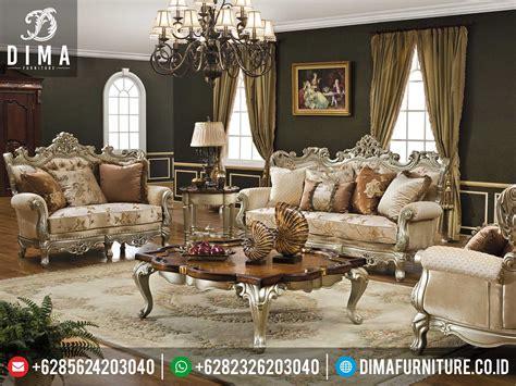 Kursi Ruang Tamu Mewah mebel jepara set kursi sofa ruang tamu mewah caesar