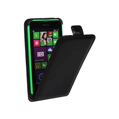Flip Nokia 635 luxury pu leather for nokia lumia 630 635 n630 n635 mobile phone flip cover smooth