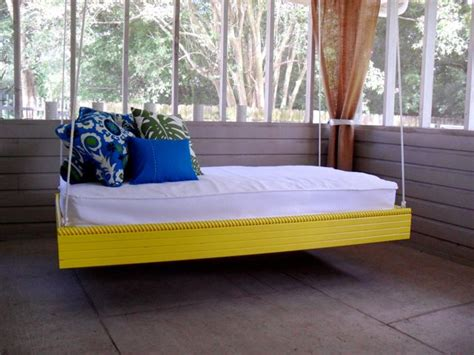 outside bed ana white hanging outdoor bed diy projects