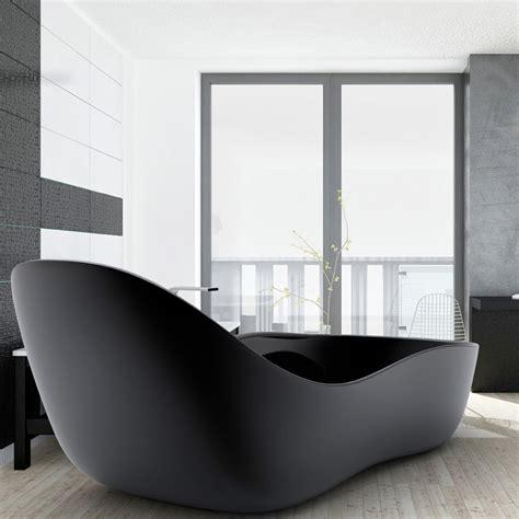 vasca bagno design vasca da bagno freestanding laccata design moderno wave